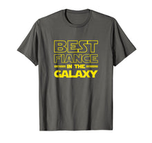 Afbeelding in Gallery-weergave laden, Mens Fiance Gifts Best Fiance in the Galaxy Men Tee Shirts
