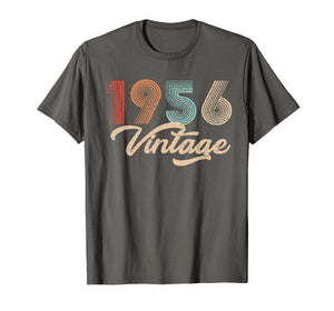 63rd Birthday Gift Vintage Classic 1956 tshirt fathers day