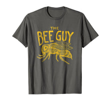 Afbeelding in Gallery-weergave laden, Mens Beekeeper Shirt - The Bee Guy Beekeeping Honey Bee Graphic