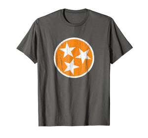 Tennessee Tristar Shirt, Tennessee State Flag Shirt