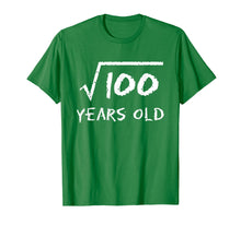 Afbeelding in Gallery-weergave laden, Square Root of 100: 10th Birthday 10 Years Old T-Shirt
