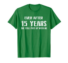 Afbeelding in Gallery-weergave laden, Mens Funny Anniversary Gifts For Him - 15 Years Anniversary Gifts