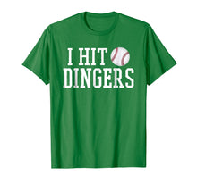 Afbeelding in Gallery-weergave laden, I Hit Dingers T Shirt for Sluggers - Funny Baseball Tshirts