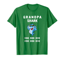 Afbeelding in Gallery-weergave laden, Grandpa Shark T-shirt Doo Doo Doo - Grandpa Shark Gift Shirt