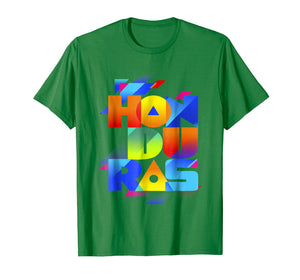 Catracho, Honduras T shirt colorfull letters