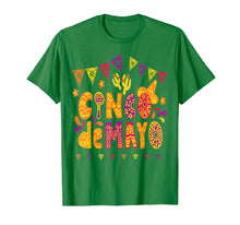 Afbeelding in Gallery-weergave laden, Cinco De Mayo Shirt Festividad del Cinco de Mayo Camiseta