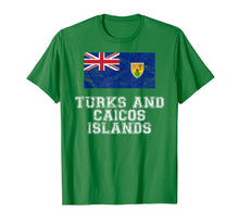Afbeelding in Gallery-weergave laden, Turks and Caicos Islands Flag I  Men Women Kids T-Shirt