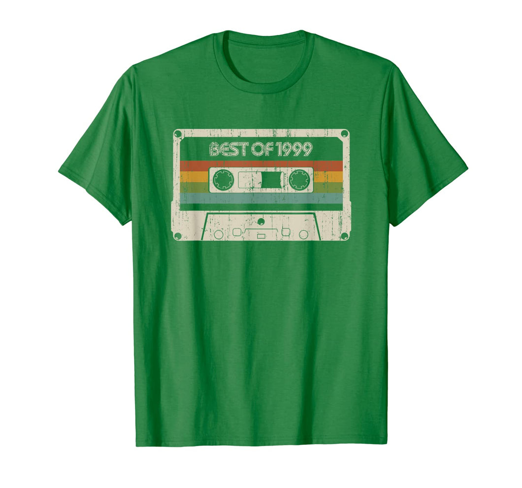 Vintage Best of 1999 20th Birthday Cassette T-Shirt