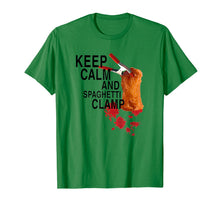 Afbeelding in Gallery-weergave laden, Keep Calm And Spaghetti Clamp T-Shirt