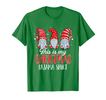 Afbeelding in Gallery-weergave laden, This Is My Christmas Pajama Shirt Three Gnomes Cute Boys T-Shirt