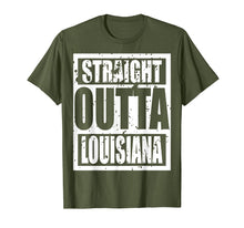 Afbeelding in Gallery-weergave laden, Straight Outta Louisiana TShirt Funny Gift