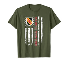 Afbeelding in Gallery-weergave laden, 5th Special Forces Group American Flag Tshirt