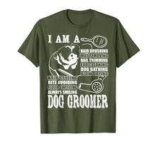 Afbeelding in Gallery-weergave laden, I'm A Dog Groomer T Shirt, Dog Groomer's Promise T Shirt