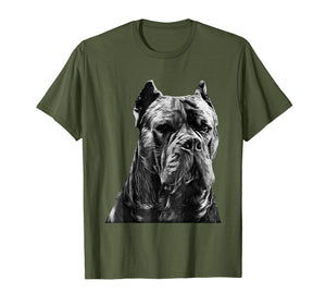 Italian Mastiff Head Cane Corso Dog T-Shirt