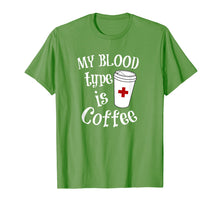 Afbeelding in Gallery-weergave laden, Coffee Lovers Phlebotomy Tshirt for Women Phlebotomists