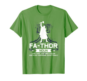 Mens father like a dad just way cooler father's day thunder god T-Shirt