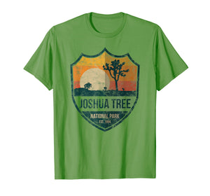 Joshua Tree National Park T-shirt Distressed joshua tree app