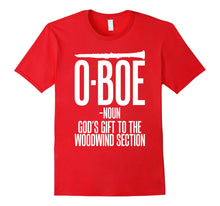 Afbeelding in Gallery-weergave laden, Oboe Shirts Funny Oboe Definition T shirts