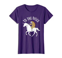 Afbeelding in Gallery-weergave laden, Sloth Ride Unicorn To The Disco Tee shirt