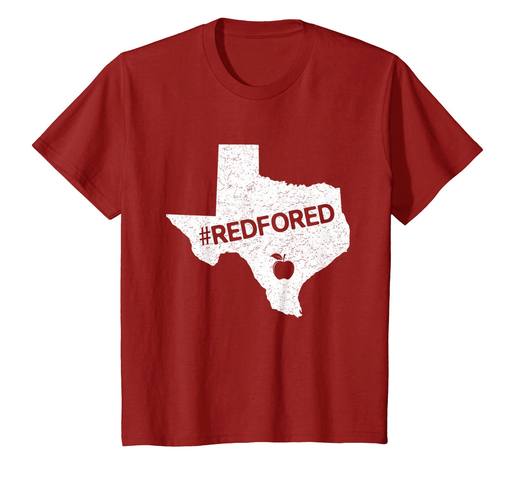 Teachers Public Education Red For Ed Texas T-Shirt Gifts