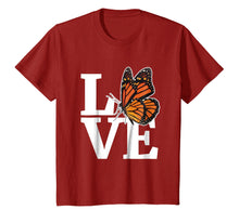 Afbeelding in Gallery-weergave laden, Monarch Butterfly T Shirt Gift for Milkweed Plant Lovers Awa