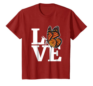 Monarch Butterfly T Shirt Gift for Milkweed Plant Lovers Awa