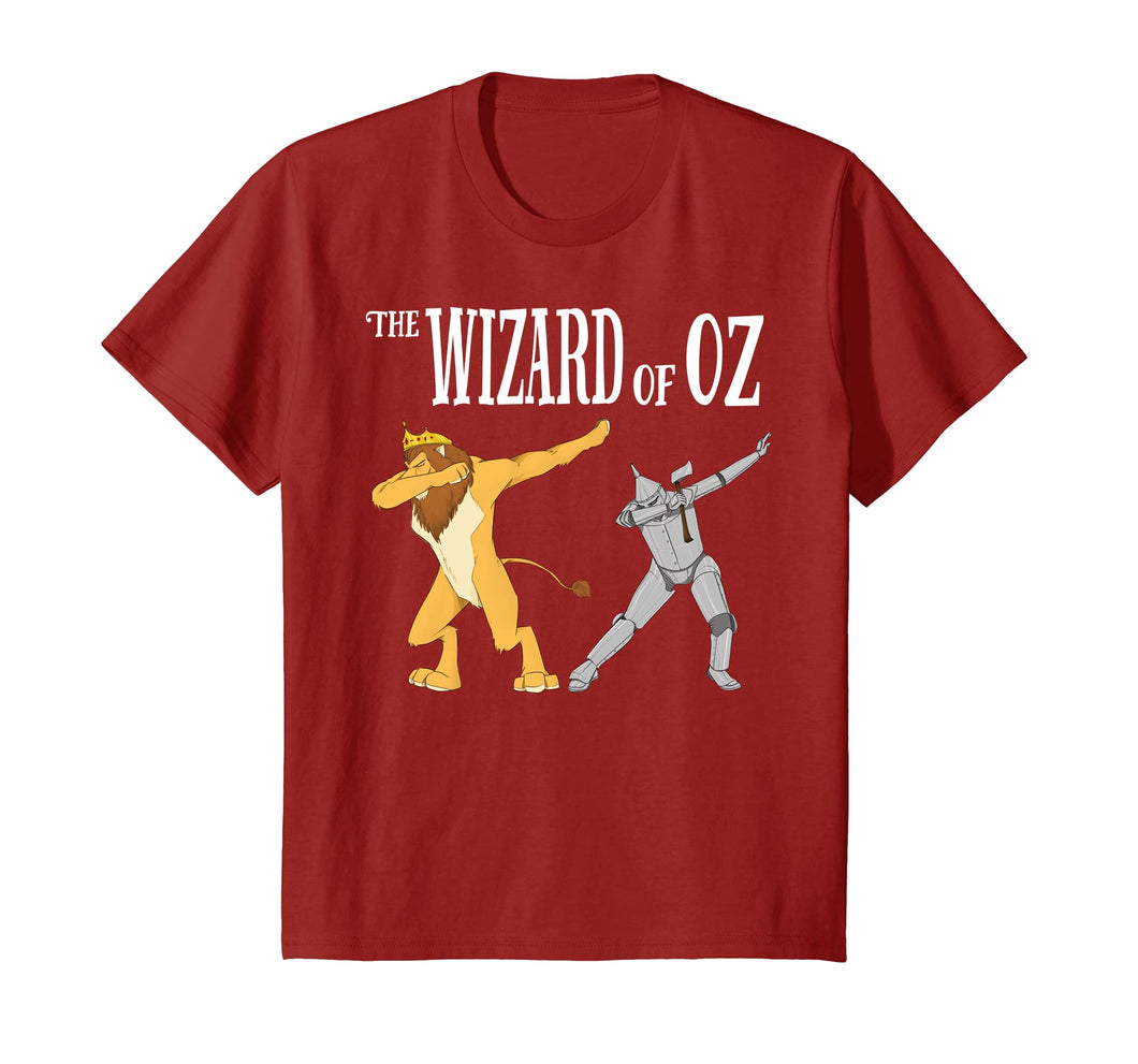 Kids The Wizard of OZ Dabbing King Lion Tee/Tin Man Dab T-shirt