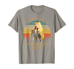 Vintage Stevie tshirt Nicks Love Musician For President 2020 T-Shirt