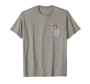 Sphynx Shirt Sphinx Cat In Pocket T-Shirt