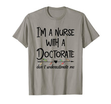 Afbeelding in Gallery-weergave laden, Nurse DNP PhD Doctorate T-Shirt Mother's Day Gift for Mom