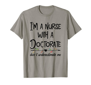 Nurse DNP PhD Doctorate T-Shirt Mother's Day Gift for Mom
