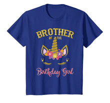 Afbeelding in Gallery-weergave laden, Brother Of The Birthday Girl Unicorn Matching Shirt