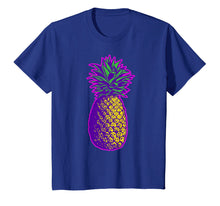 Afbeelding in Gallery-weergave laden, Colorful Pineapple Vintage Illustration T-Shirt