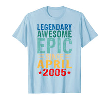 Afbeelding in Gallery-weergave laden, Legendary Awesome Epic Since April 2005 14 Years Old T Shirt