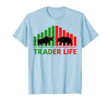 Afbeelding in Gallery-weergave laden, Trader Life Bulls and Bears Stock Market Trading Investors T-Shirt
