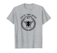 Afbeelding in Gallery-weergave laden, Save the bees save humanity T-shirt
