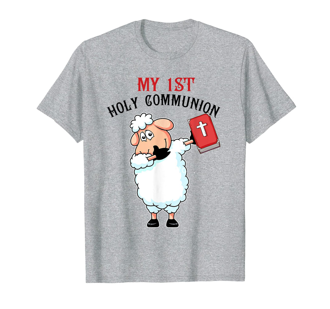 Cute Lamp My 1st Holy Communion Christian T Shirt Gift Boy