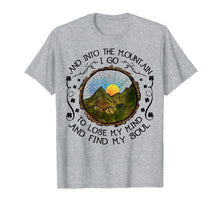 Afbeelding in Gallery-weergave laden, Into The Forest I Go Funny Hiking Camping T-shirt
