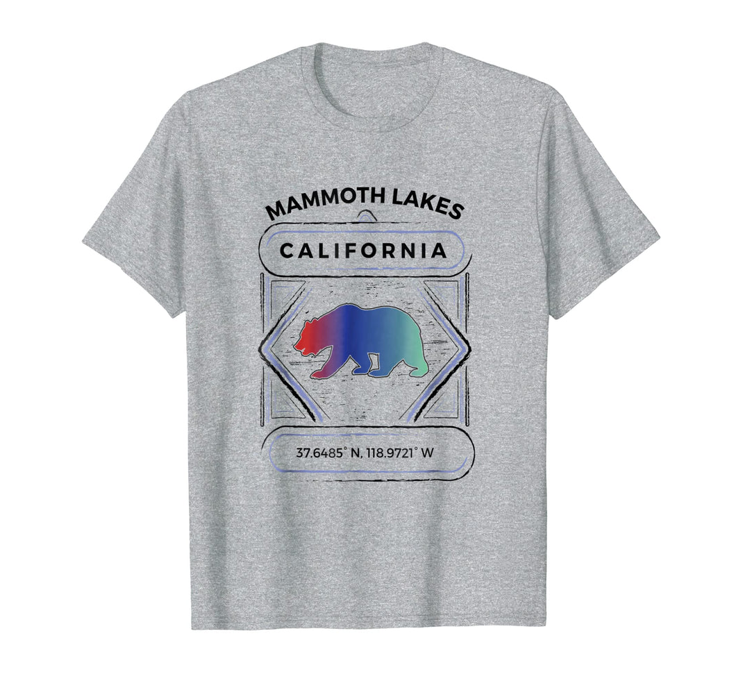 Mammoth Lakes T Shirt Summer Winter Hiking Adult Kid Apparel