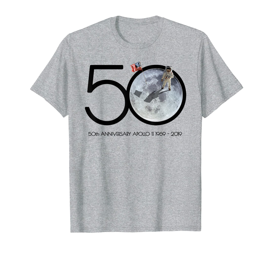 Apollo 11 Moon Landing 50th Anniversary 1969-2019 T Shirt