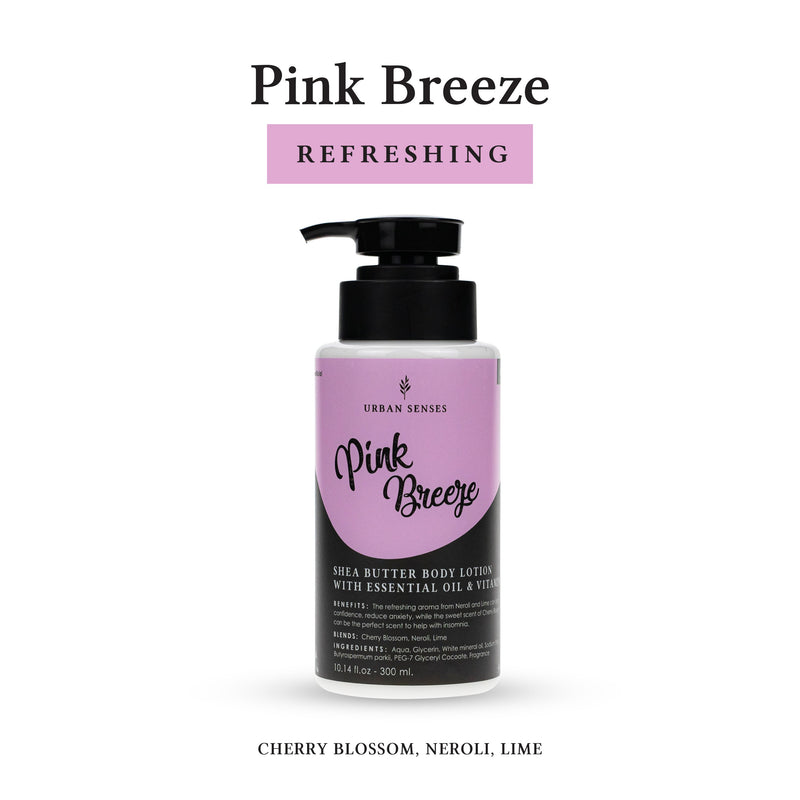 Body Lotion Pink Breeze