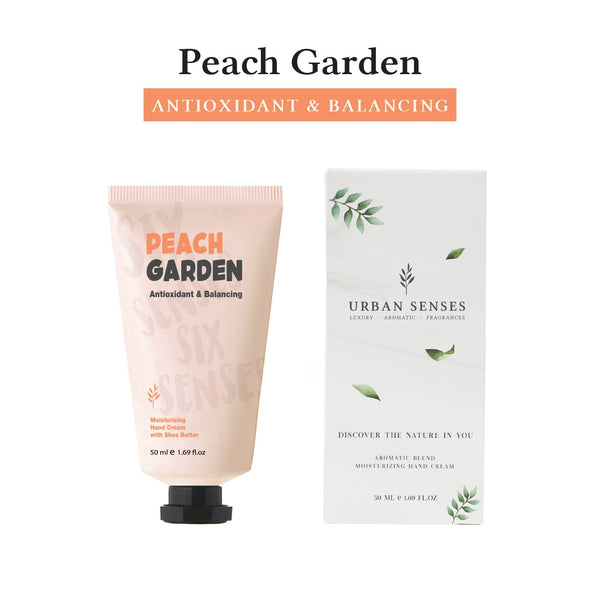 Moisturizing Hand Cream Peach Garden