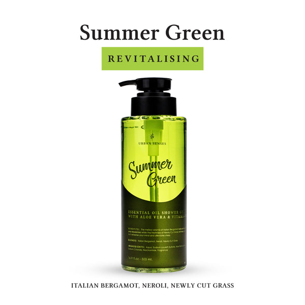 Shower Gel Summer Green