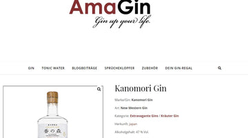 AmaGin - Review zum Yomeishu Craft Gin Kanomori