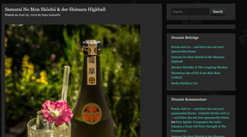 Samurai No Mon Shochu & der Shimazu Highball - Galumbi Drinks and more