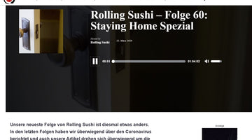 Sumikai - Rolling Sushi Podcadst: Staying Home Spezial zur Corona-Krise