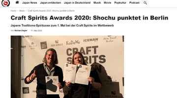 Sumikai - Craft Spirits Awards 2020: Shochu räumt in Berlin ab