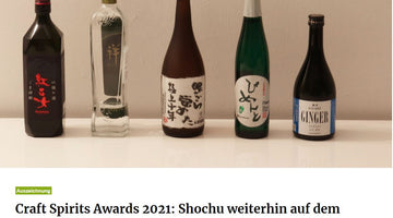 about-drinks - Craft Spirits Awards 2021 - Shochu weiterhin auf dem Vormarsch