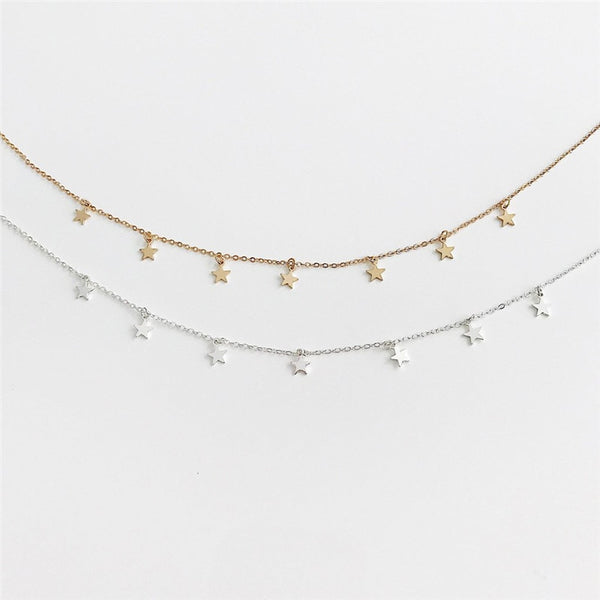 Star Choker Necklace from Embellish | London