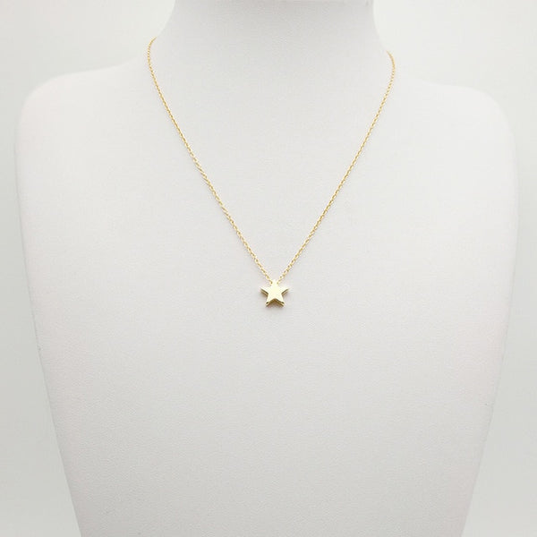 Star Pendant Necklace from Embellish | London